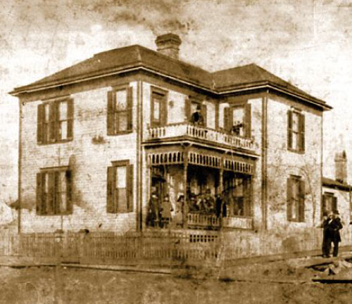 Historical Photo of the Blind Boone Home