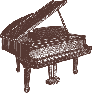 Sketch of Piano