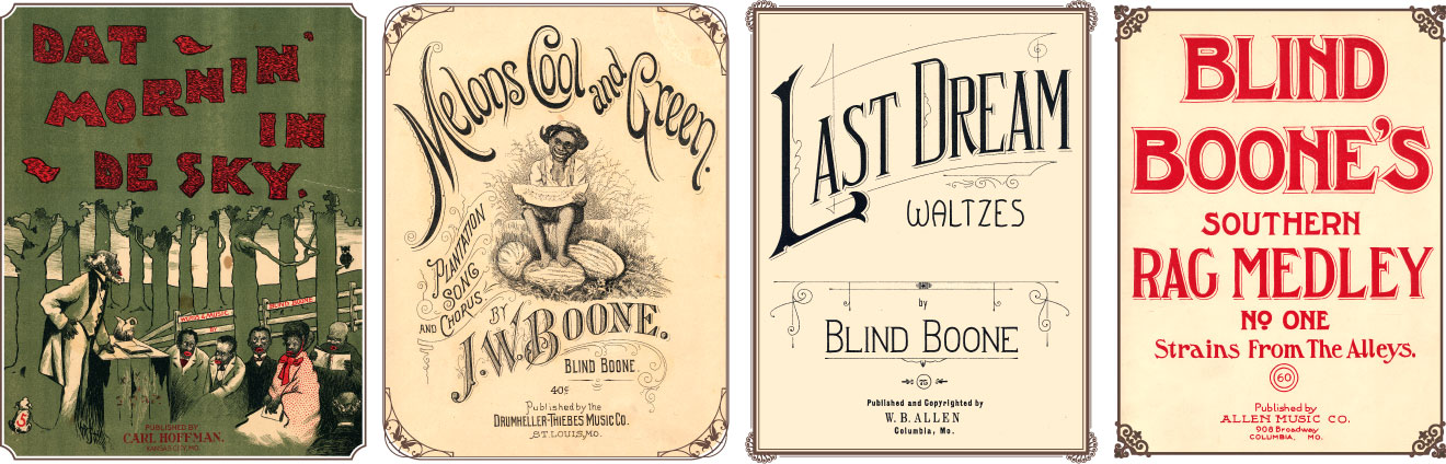 A Collection of Blind Boone's Sheet Music