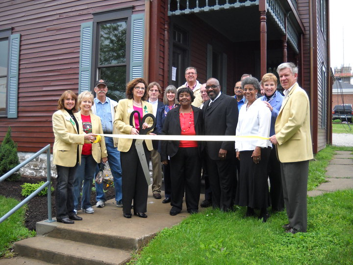 Chamber of Commerce Ribbon Cutting at The Blind Boone Home