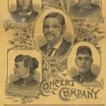 Blind Boone Concert Company Poster
