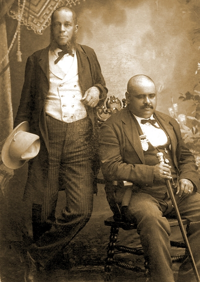 "John Lange Jr. and John William ""Blind"" Boone"