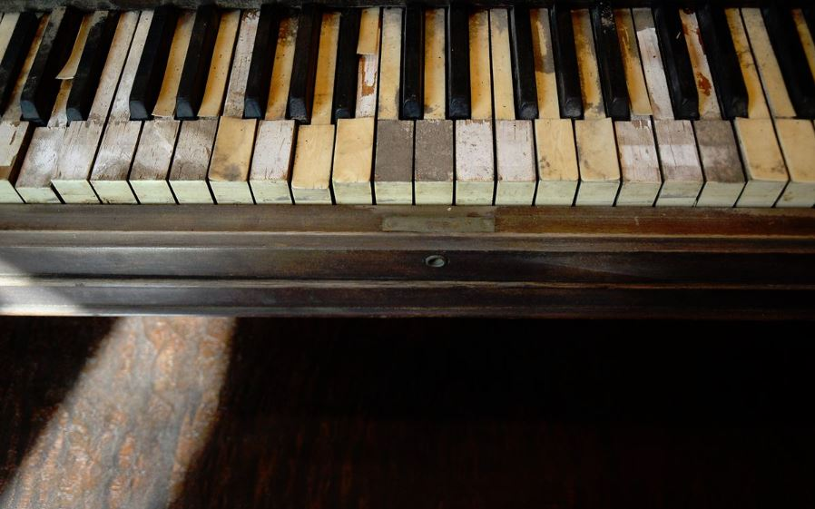 Blind Boone Piano Keys
